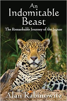 The cover for Indomitable Beast, Dr. Rabinowitz's remarkable book.