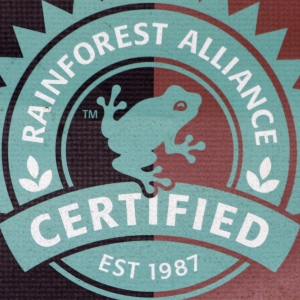 Certified Rainforest Alliance Est 1987 by Leo Reynolds. CC BY-NC-SA 2.0