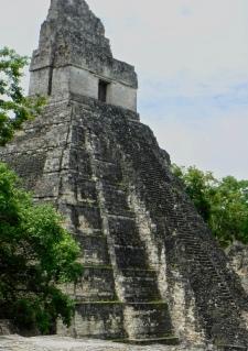 Temple I at Tikal.