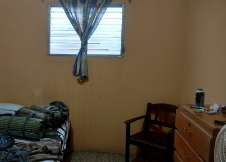 A shot of my room at Hospedaje Doña Goya. The room was fairly basic, and to be honest I felt more comfortable in the open air of the jungle.