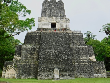 Temple II at Tikal, which I was able to visit through my participation in the Programme for Belize Archaeological Project.