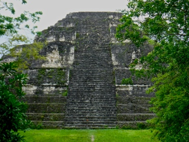 The Great Pyramid at Tikal, which I was able to visit through my participation in the Programme for Belize Archaeological Project.