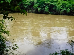 The Belize River.