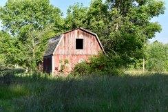 An aging barn.
