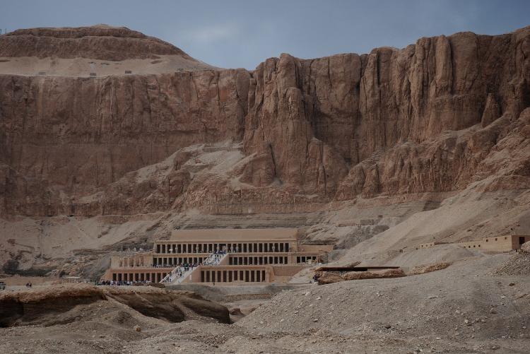 The Temple of Hatshepsut in Luxor, Egypt.
