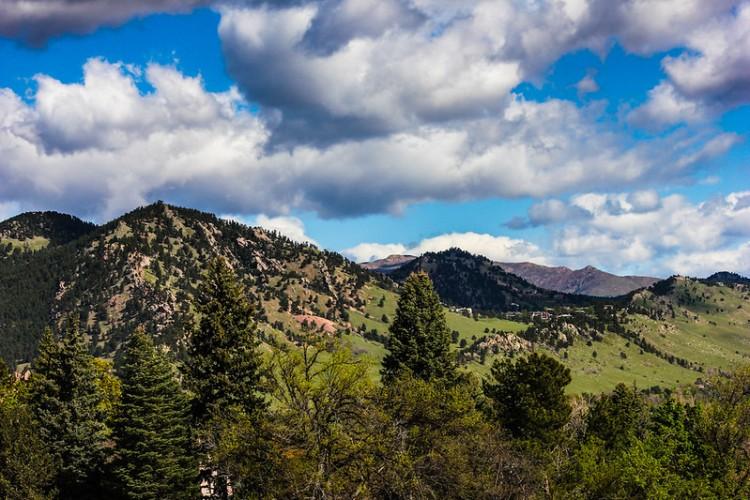 Mountains in Colorado.