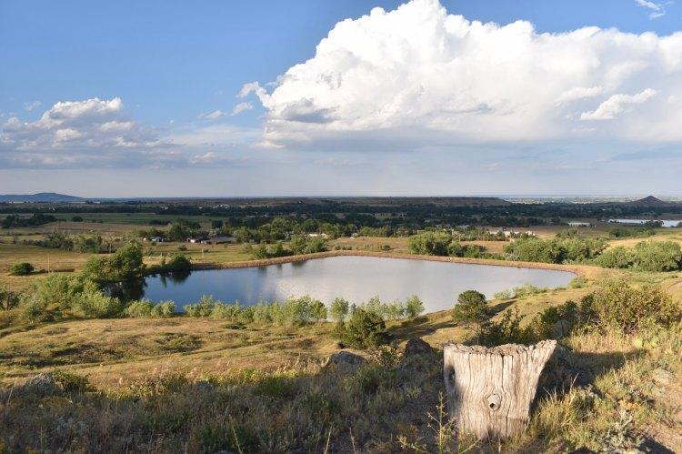A reservoir.