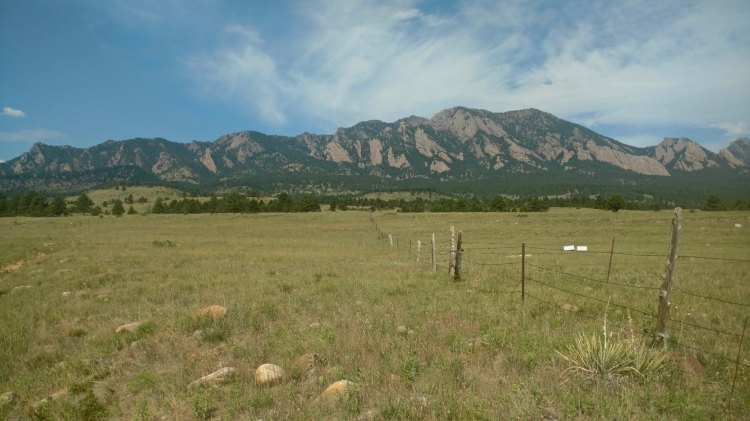 A view of Colorado's Front Range